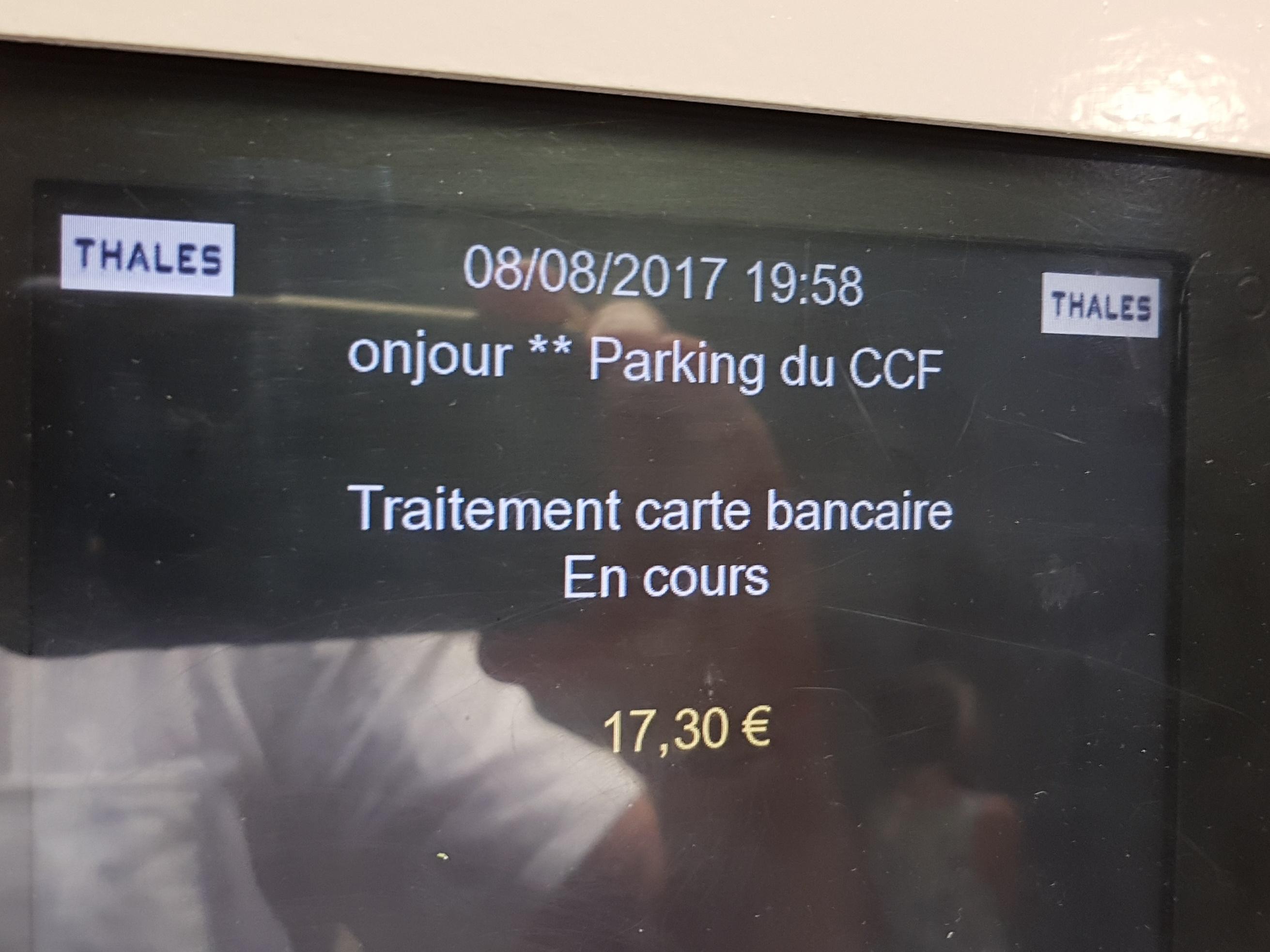 Parkeerautomaat Monaco