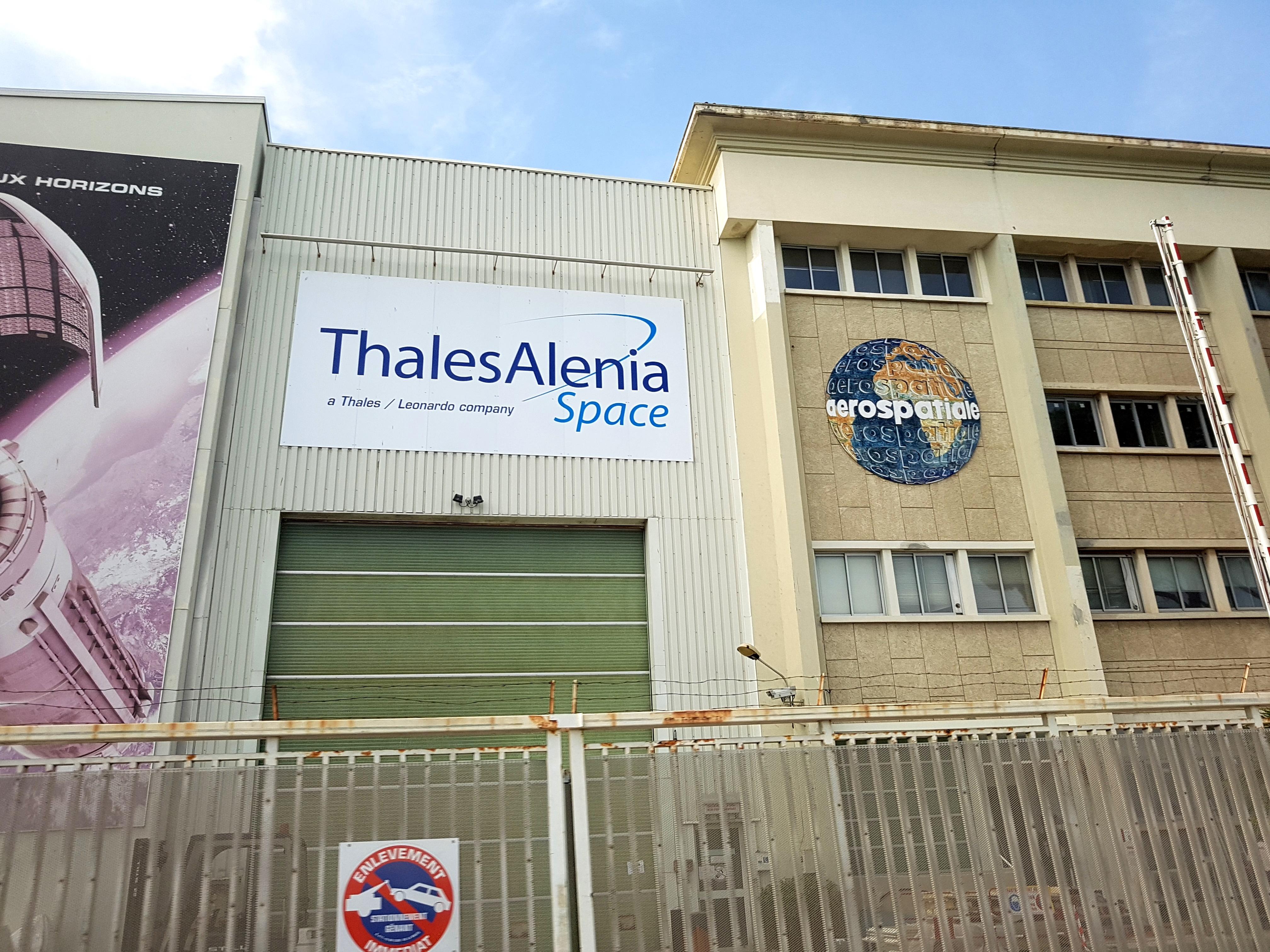 Fabriek van Thales in Cannes